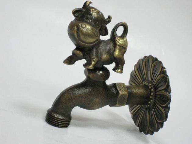 銅製造型水龍頭 1