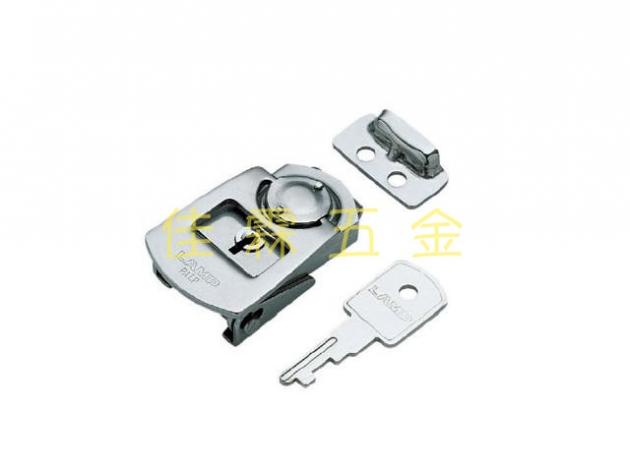 LAMP PN51免鑽孔白鐵勾鎖 1