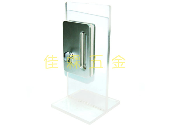 玻璃門勾鎖LG01A 1